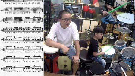209凯文先生《多宝练鼓记》手鼓教学非洲鼓教学箱鼓教学卡宏鼓教学