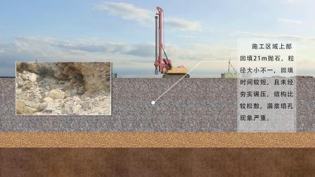 鑫国基础 旋挖钻机护筒跟进施工工艺