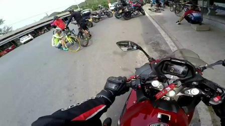 GSX250R 摩托车妙峰山遛车