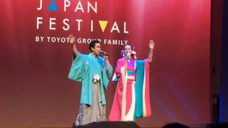 (饭拍) Nadech Yaya 演唱白天的月亮 @Toyotsu Japan Festival活动 190616
