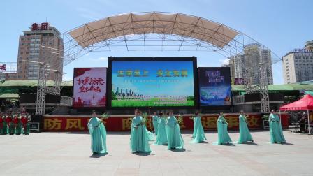 火火艺术团文化宫广场演出2019年6月16日