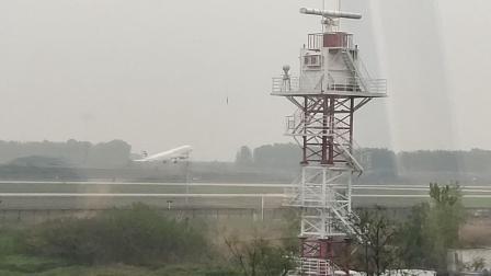 合肥新桥机场飞机起飞