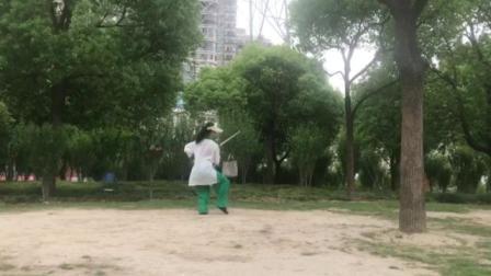 32式太极剑 黄采君晨练记录