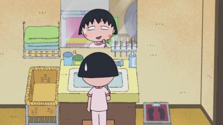 樱桃小丸子 小丸子犯困欲放弃刷牙,结果被姐姐抓了现行