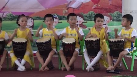 金色童年幼儿园6、非洲鼓
