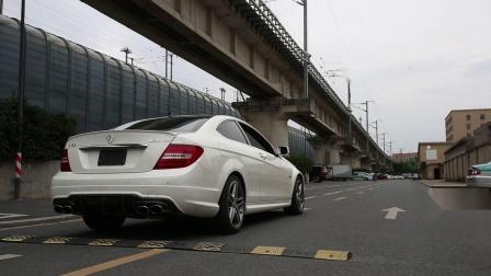 【杭州GeekAuto】奔驰C63改eisenmann中尾段排气 声浪