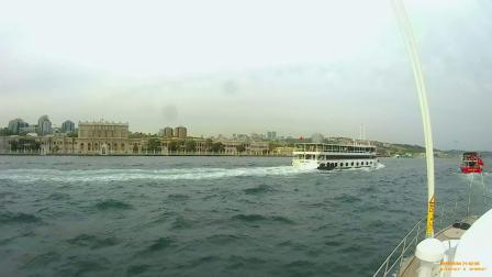土耳其10日游- 伊斯坦布尔午游船码头至欧亚大桥水路来回(2019.5.4)
