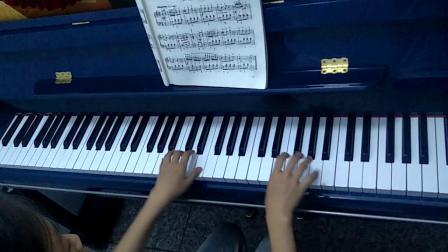 《匈牙利舞曲》钢琴曲演奏者:于诗涵。