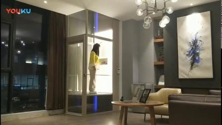 厂家直销海普家用别墅电梯液压升降机免费上门安装