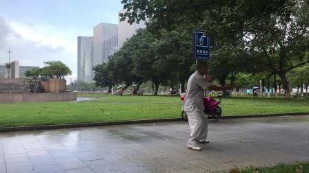 2019.6.19.深圳广场,太极洪拳黎师傅
