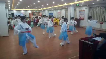 北京花园路社区功夫扇