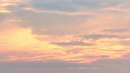 甘肃兰州西固之最爱故乡诗意天空,诗意夕阳