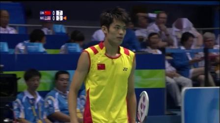 [1080p] 2008北京奥运会羽毛球男单决赛 林丹 vs 李宗伟