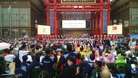 第八届世界传统武术锦标赛峨眉山邱发丽老师场上风彩