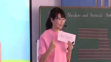 闽教版英语三年级上册Unit 3 NumbersPart A-黄老师优质课视频(配课件教案)