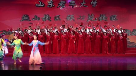 玉海摄《爱我中华》燕山校区形舞提高三年级指导:李文哲