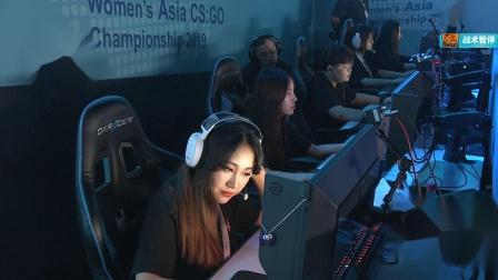 Zlypw vs ArkAngel DIVINA CSGO亚洲女子赛 BO3 第一场 6.21