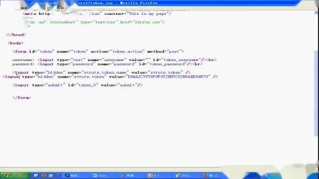 [SSY]_020.通过分析底层源代码详解Struts2 Session Token机制