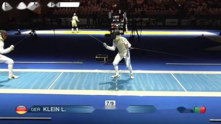 2019击剑锦标赛 德国VS意大利