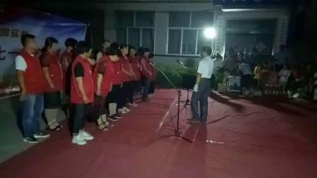 【郑文芹】合唱-没有共产党就没有新中国-许孟义工演唱
