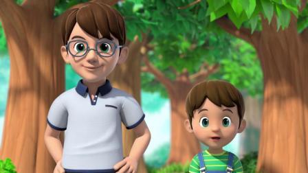 萌鸡小队 第二季  英文版 在小鸡们的鼓舞下,小男孩克服了内心的恐惧