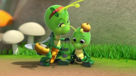 小蚂蚱终于明白了吃饭的重要性,身体健康才是最重要的