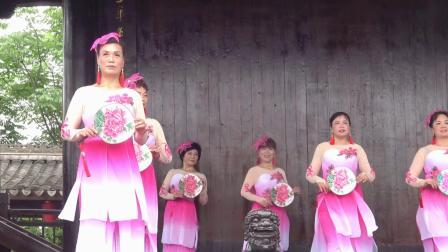 镇长海华泓大型旗袍秀-5舞蹈-望月