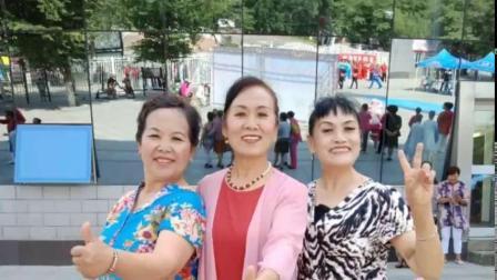 20190621米东区众合社区腰鼓参演开幕式
