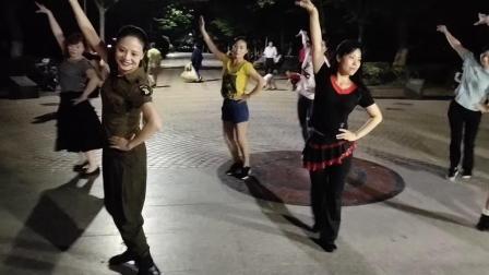 水晶苹果广场舞【站着等你三千年】(夜场版)