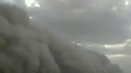 新疆的雲掉到地上了!
