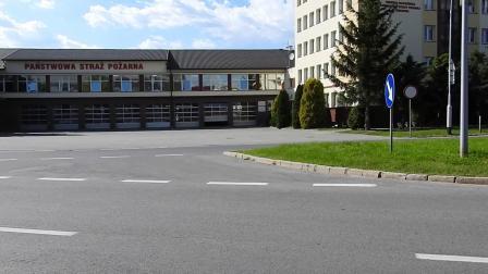 紧急出动321R21 Mercedes Atego GBA z JRG 1 Rzeszów