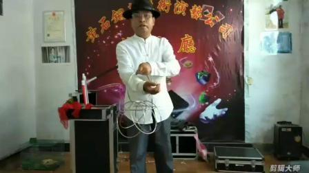 国际魔术师协会会员刘礼清在《中国泰坦魔术联盟2019年夏季比赛》一等奖