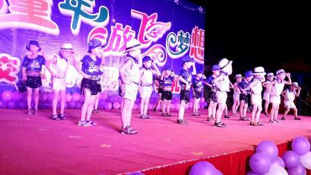 2019年6月上思交通幼儿园文艺晚会大班舞蹈《爵士舞》