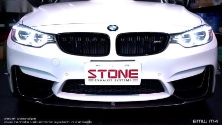 BMW F83 S55 M4 x STONE EXHAUST