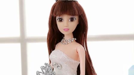 小公主苏菲亚 乐高好朋友 冰雪奇缘 迪斯尼公主 芭比娃娃之米小熊做蛋糕