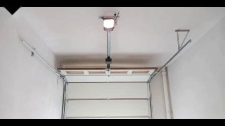 翻板车库门电机 安装效果演示 AAVAQ锐玛电机