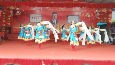 陕西风玲广场舞……领舞风玲2019庆七一文艺演出舞蹈……吉祥颂