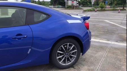 斯巴鲁2020年款BRZ MT手动 提车vlog记录