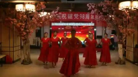 满华广场舞(我和我的祖国)