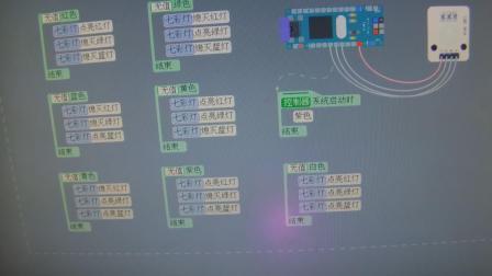 玩转Arduino图形化编程基础版26-七彩灯(软件设置颜色)