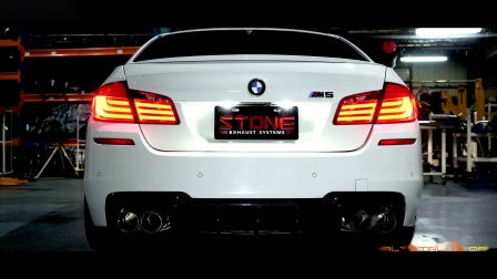 BMW F10 S63 M5 x STONE EXHAUST