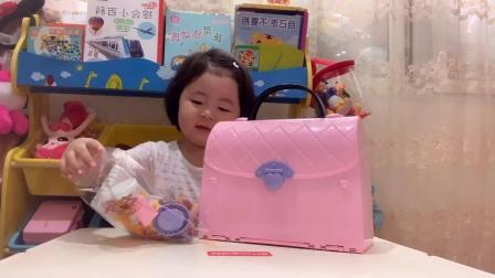 虹彩妹妹开箱视频~梦幻手提包