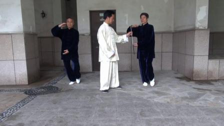 章旭明40式杨氏太极拳动作分解--第十一式 肘底锤