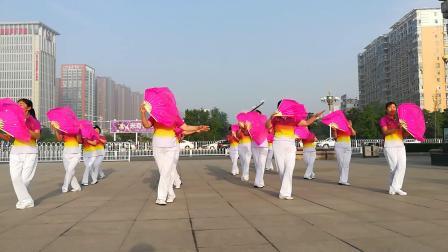 邯郸市经开区东方广场舞蹈队《祖国我是你生命的延续》
