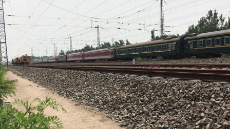 霸州   京九线   站北侧拍摄K7762次