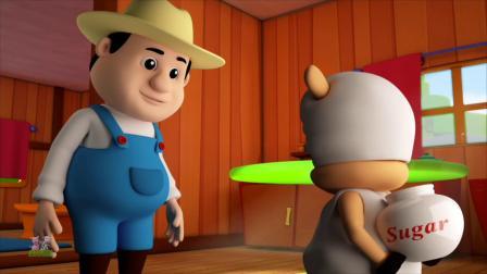 儿童童谣和卡通视频的水果名称和颜色