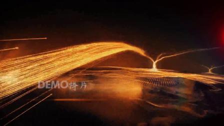 G22震撼企业开场视频启动仪式大气年会片头光线粒子宣传片素材AE模板祝寿视频 大寿 视频制作 毕业季 毕业相册