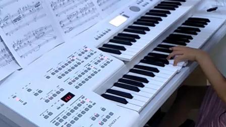 《铁血丹心》双排键.演奏者:于诗涵。