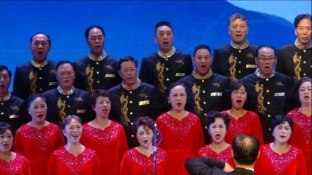 大合唱《在太行山上》重庆市工行牡丹艺术团2019 6 27