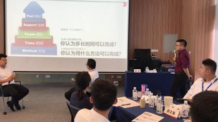 2019年6月,娄伟老师主讲的《目标与计划管理》2